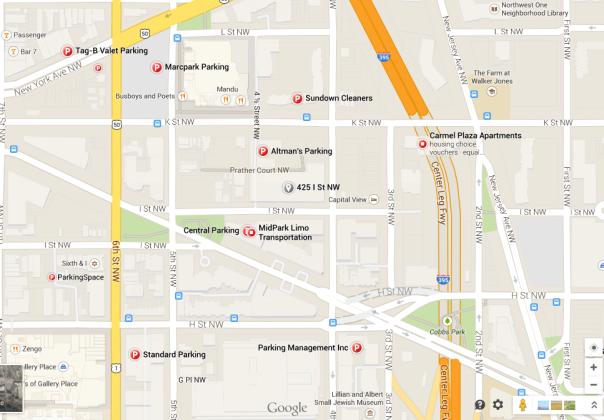 Parking Garage Locations